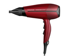 "Taurus Hair Dryer Ionic Function With Diffuser Red 3Heat Settings 2400W ""Fashion 2500 Ionic"""