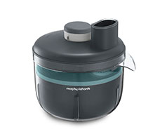 "Morphy Richards Food Processor Variable Speed Plastic Grey 4L 210W ""Prepstar"""