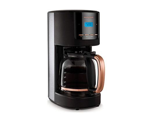 Morphy Richards Stainless Steel Digital Coffee Maker
