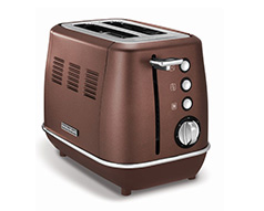 "Morphy Richards Toaster 2 Slice Stainless Steel Bronze 900W ""Evoke"""