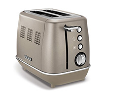 "Morphy Richards Toaster 2 Slice Stainless Steel Platinum 900W ""Evoke"""