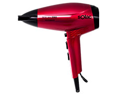 "Solac Hair Dryer Ionic DC Motor Pink 2 Speed 2300W ""Ionic Pro 2300 Compact"""
