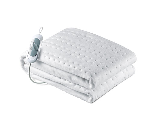 """Solac Electric Under Blanket Single Bed White 150 x 80cm 60W """"Norway Bed Warmer"""""""