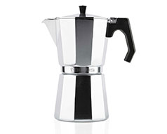 12 Cup Aluminium Italica Induction Espresso Maker