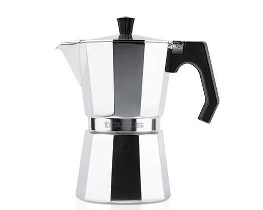 6 Cup Aluminium Italica Induction Espresso Maker
