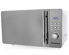 "Taurus Microwave 5 Power Levels Silver 20L 700W ""Microonda Digital"""