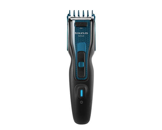 "Taurus Hair Clipper Cordless Stainless Steel Blue 4.8V ""Nixus"""