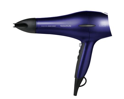 "Taurus Hair Dryer AC Motor Purple 2 Speed 2200W ""Fashion 3000 Ionic"""