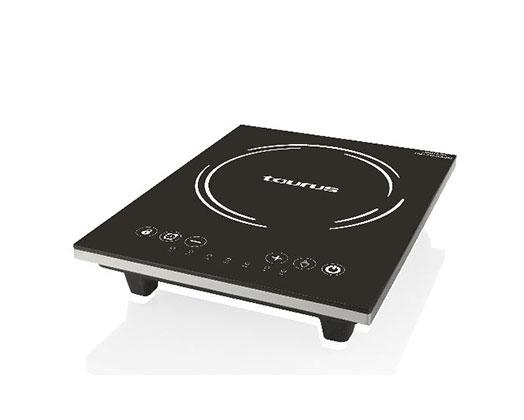 "Taurus Induction Cooker LED Display Crystal Black Variable Heat Settings 2000W ""Induccion Estufa"""