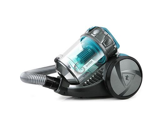 "Taurus Vacuum Cleaner Bagless Cyclone Plastic Blue 2L 700W ""Dynamic Eco Turbo"""