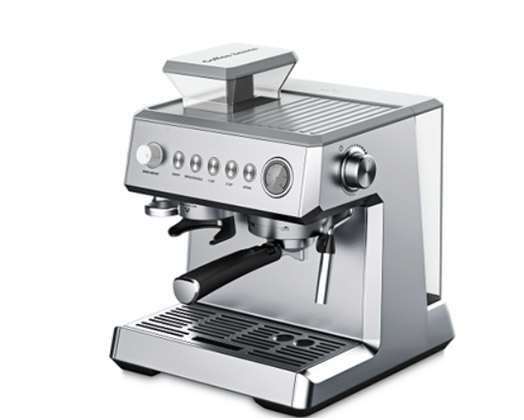 Taurus Coffee Maker Espresso With Coffee Bean Grinder Stainless Steel Brushed 2L 15BAR