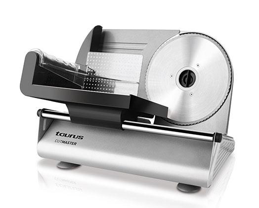 "Taurus Food Slicer Steel Brushed 150W ""Cutmaster"""