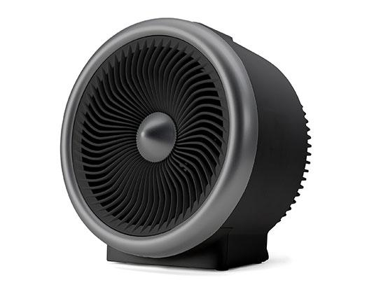 "Taurus Heater Adjustable Temperature Black 2000W ""Tropican Jet Hot & Cool"""
