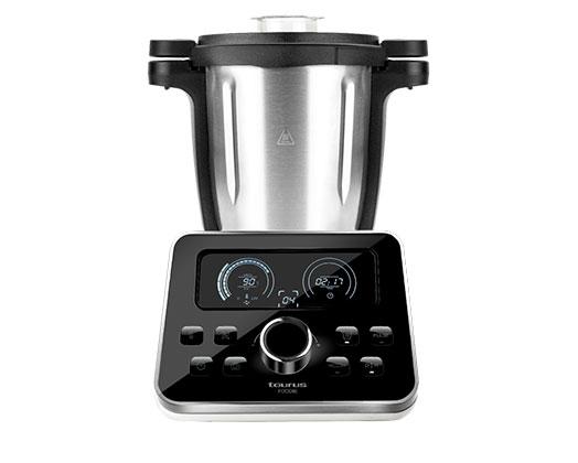 """Taurus Kitchen Machine Digital Stainless Steel Black 3.5L 1500W """"Foodie"""""""