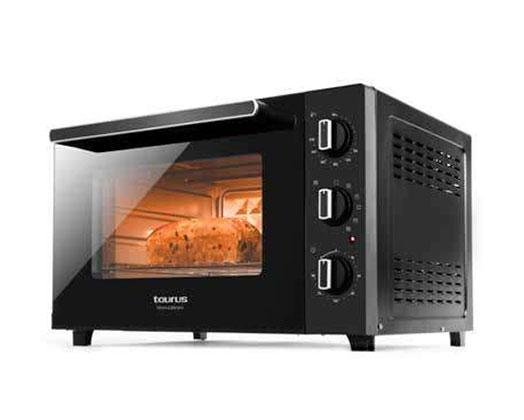 "Taurus Mini Oven Black 60L 2000W ""Horizon"
