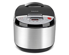 "Taurus Multi Cooker Digital Stainless Steel Black 5L 900W ""Top Cuisine"""