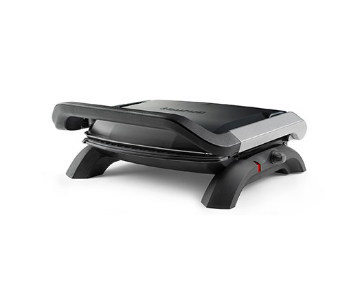 """Taurus Panini Press With Cool Touch Handles Non-Stick Black 31.5X24cm 1800W 'Grill & Co"""""""