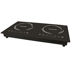 "Taurus Induction Cooker LED Display Crystal Black Variable Heat Settings 3000W ""Induccion Estufa"""
