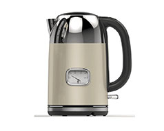 Taurus Kettle 360 Degree Cordless Stainless Steel Cream 1.7L 2200W