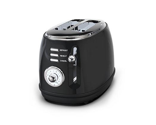 Taurus Retro 2 Slice Stainless Steel Toaster