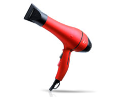 Pro Turbo 2000w Hairdryer - Red