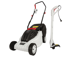 Garden Starter Pack - Electric Lawnmower and Grass Trimmer