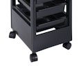 5 Tray Salon Trolley with Top Utility