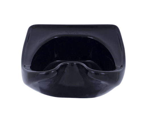 Black Fibre Glass Single Basin