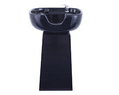 Ceramic Pedestal Basin with Shower Attachment
