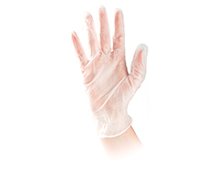 50 Latex Free Powdered Medium Gloves
