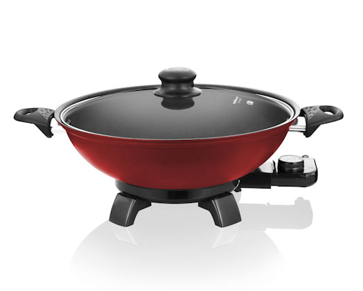 red bangkok electric wok mellerware 27607 creative