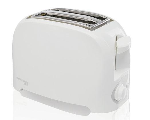 White Eco 2 Plastic Toaster