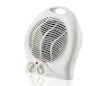 White Floor Fan Heater