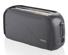 Hot Slice Cooltouch Graphite Toaster