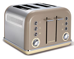 Accents 4 Slice 1800W Barley Toaster