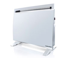White Glass Panel Heater