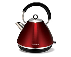 Metallic Red Accents Kettle