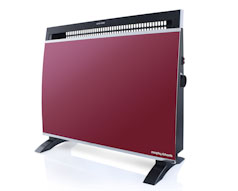 Red Wall Mount Panel Heater